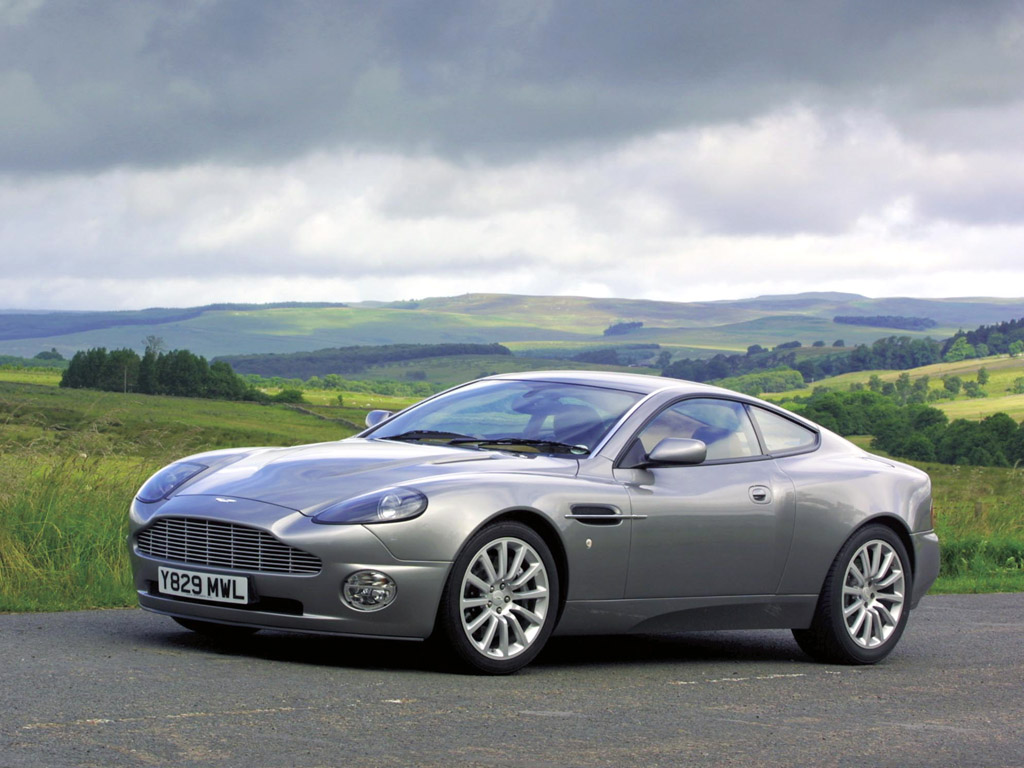 "And, the car that got cut in the editing process. This is Edward's ""special occasion"" car, and the one he used to take Bella to the Prom. The Aston Martin V12 Vanquish: (Edit: although the Vanquish was cut from Twilight, it makes a special guest appearance in Breaking Dawn)"