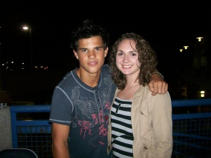 Speaking of character look-a-likes, the guy in this next picture looks just like Jacob Black! JK, it's Taylor Lautner who will play Jacob Black in the Twilight films.
