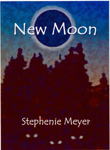 Here's an early cover for New Moon, book two in the Twilight series: