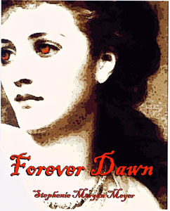Here's something from the vault: originally, I wrote this 700 page epic sequel to Twilight that didn't work for many reasons. It was called Forever Dawn, and this was the cover I used: