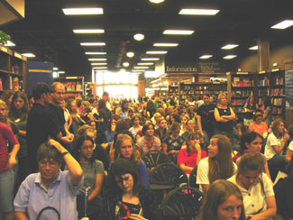 The Tattered Cover, Denver, CO  (thanks to Lisa for the Denver photography)