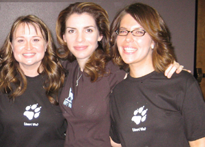 "I got to prolong the fun for a few hours at the ""I Love Jacob Black"" After Party (it's good to see Jacob getting some love!), which was fantastic. It was nice to (literally) let my hair down and spend a little time with people in a more casual setting. Even ""Edward"" and ""Jacob"" popped in for a bit (there was no bloodshed)."