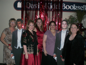 Here are a few of the lovely prom-goers in Nashville, Tennessee. Davis-Kidd Booksellers provided some amazing prom dates for their guests—is that Henry Cavill and Steven Strait I see?!