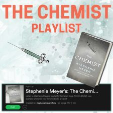 http://stepheniemeyer.com/2016/12/the-chemist-playlist-is-here/