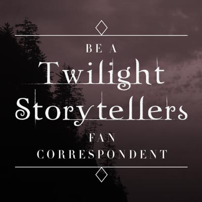 Be a Twilight fan correspondent