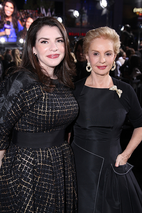 Stephenie with Carolina Herrera