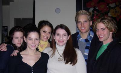 Stephenie with the vampires