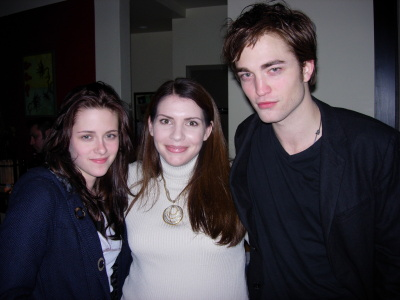 Stephenie with Bella and Edward